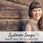 9.-11.8.2019 Sydämen Saaga retriitti – Reija Lammi